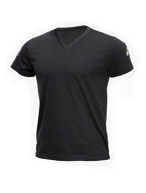 T-shirt cuello en V